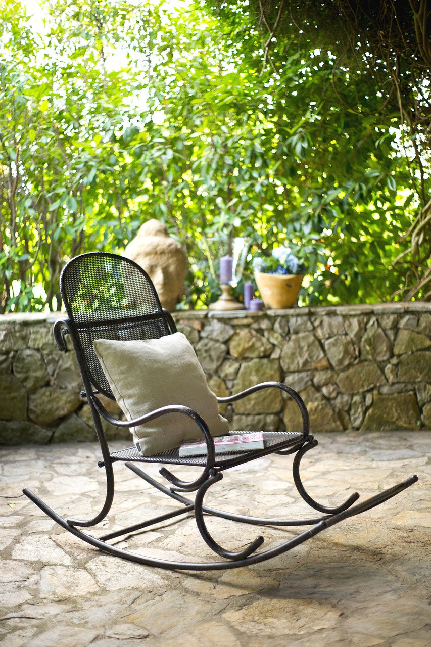 A Rock A Day in A Rocking Chair Keeps The Doctor Away