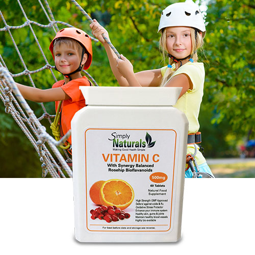 Simply Naturals Vitamin C RoseHip BioFlavanoids