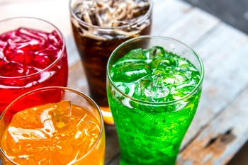 Stroke and The Soda Soft Drinks Connection