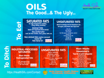 Fats Which Kill Fats Which Heal Cheat Sheet
