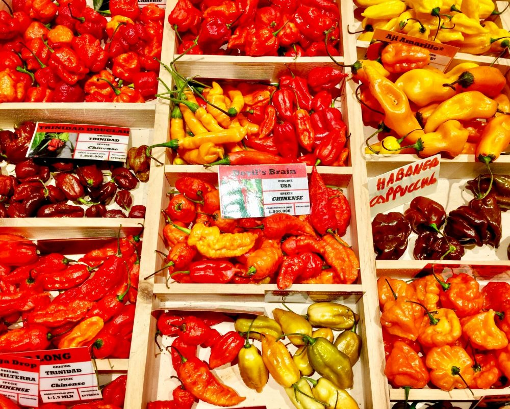 Peppers Capsaicin